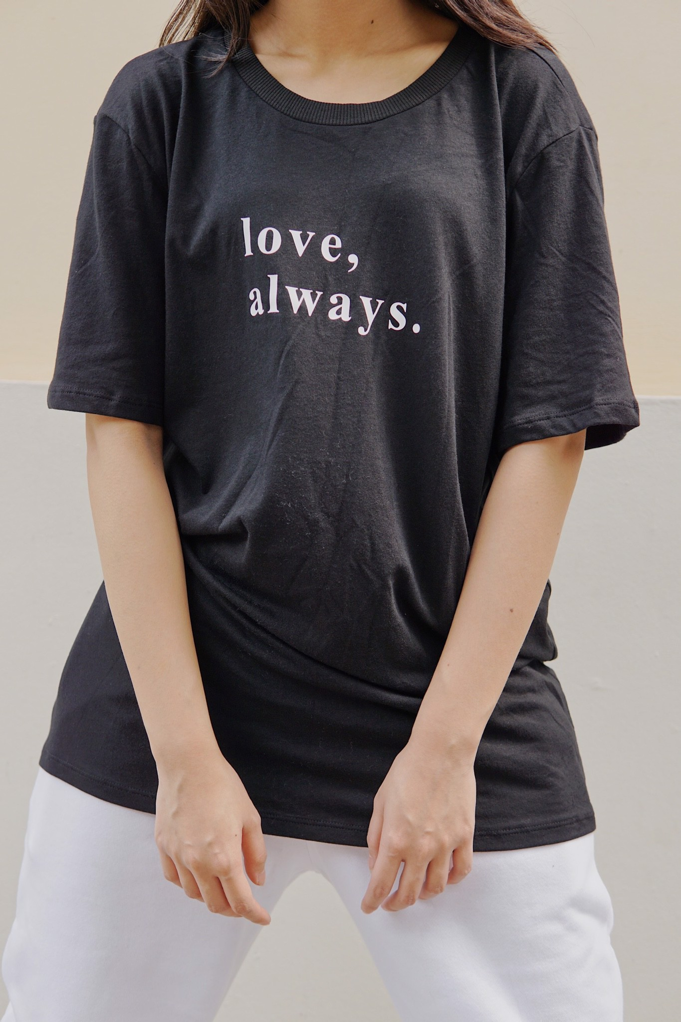 """LOVE, ALWAYS."" Graphic Tee"