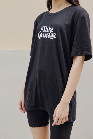 """TAKE COURAGE"" Graphic Tee"