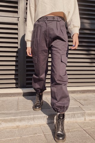 Kaki Jogger Pants (Navy)
