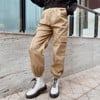 Kaki Jogger Pants (Light Brown)