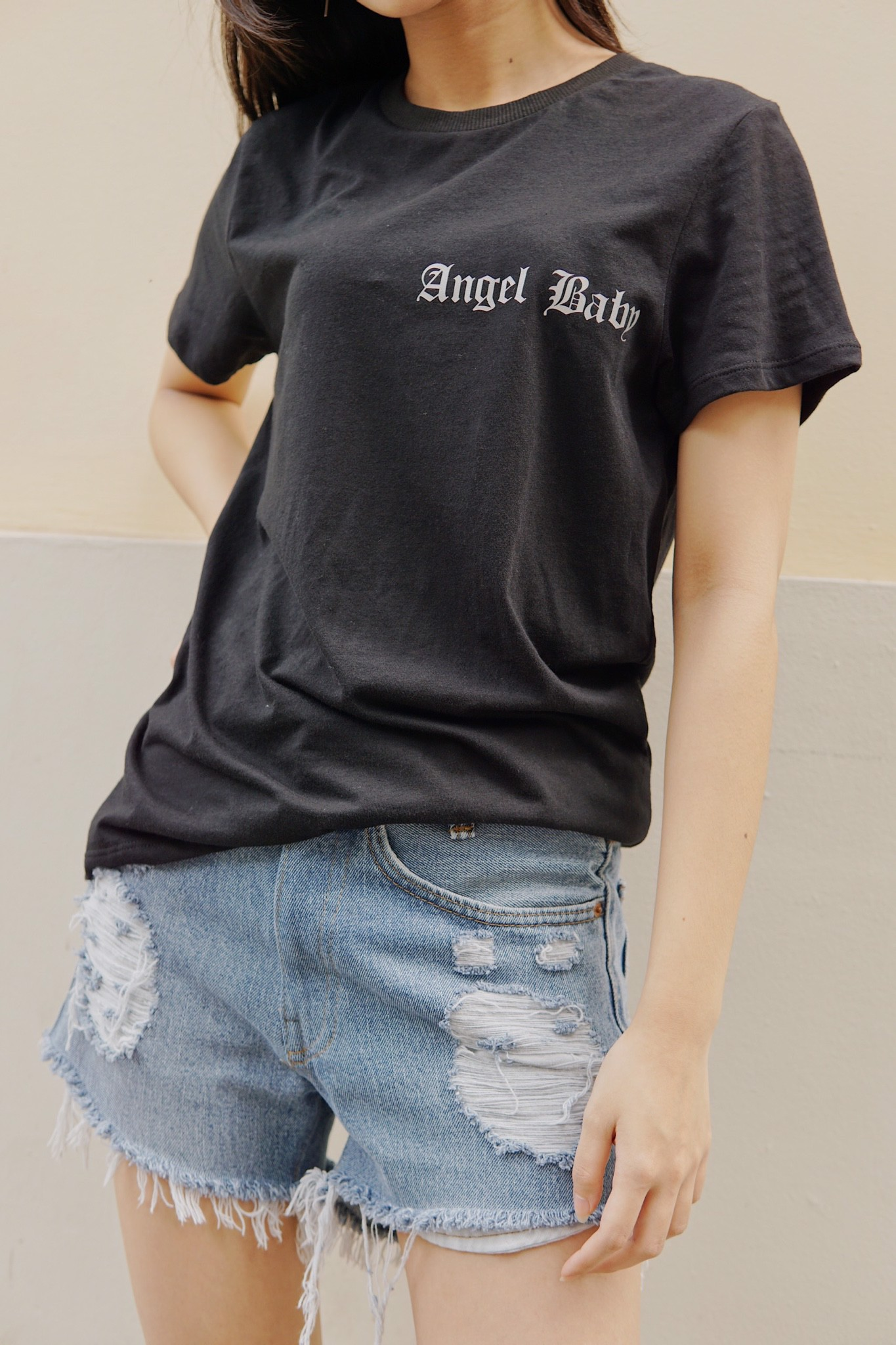 """ANGEL BABY"" Graphic Tee"