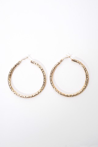 Hoop Earrings (Gold)