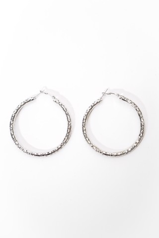 Hoop Earrings (Silver)