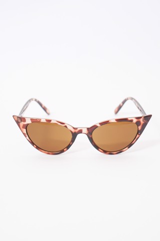Tortoiseshell Cat-Eye Sunglasses