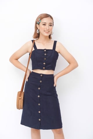 Two Piece Sets with front buttoned