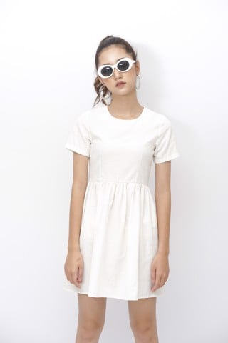 Babydoll White Dress