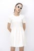 Babydoll Dress (White)