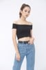 Off-the-Shoulder Top (Black)