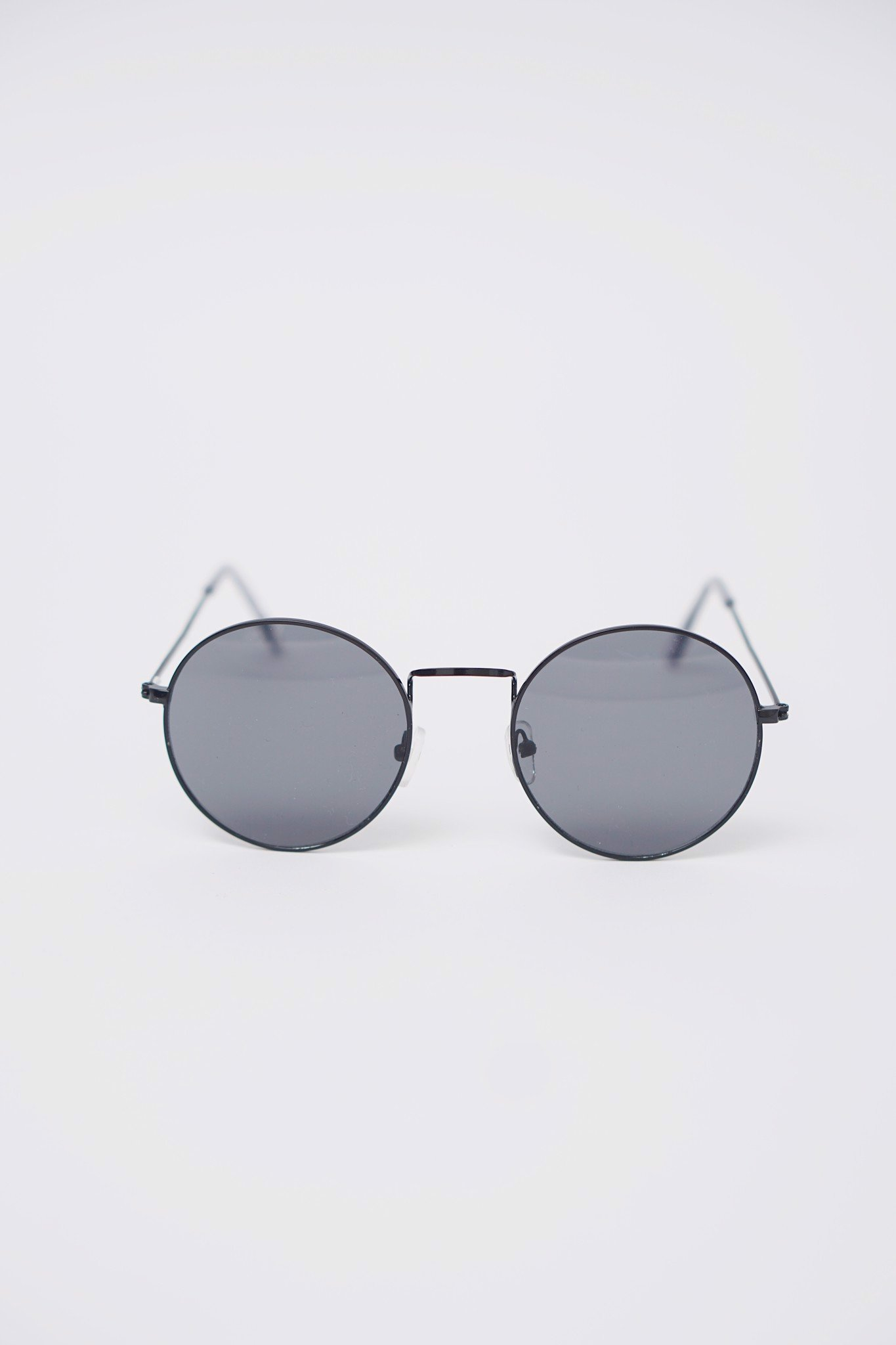 Round Metal Tinted Sunglasses