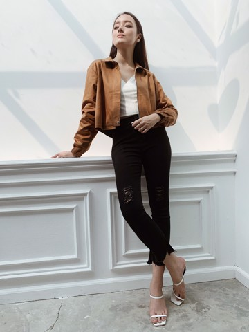 Brown Kaki Jacket