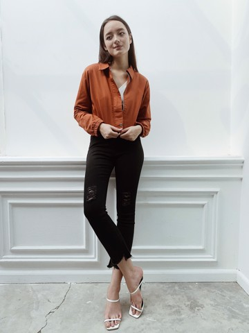 Orange Kaki Jacket