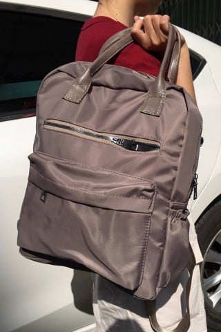 Ash Gray Backpack