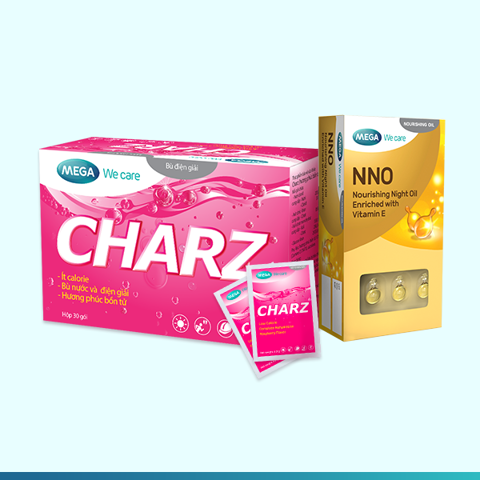 COMBO 1 HỘP CHARZ + 1 HỘP NNO DẠNG VỈ