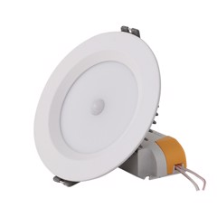 Đèn LED downlight cảm biến D AT04L 110/9w 220V E PIR