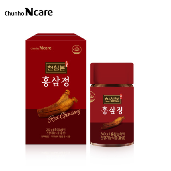 [Hàn] Cao Sâm Hàn Quốc Chunho Ncare Korean Red Gingseng Extract 6 Years Old Red Gingseng Concentrate 100% 240g