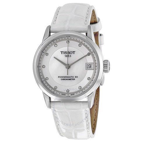 [Mỹ] Đồng Hồ Tissot powermatic 80 Mother Of Pearl Dial Ladies Watch