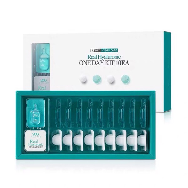 [Hàn] Set Kit Cấp Ẩm Wellage Real Hyaluronic One Day Kit