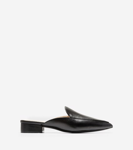 WOMEN PIPER MULE - BLACK / 5