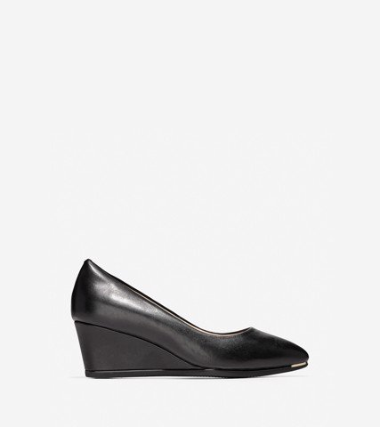WOMEN GRAND AMBITION WEDGE (75MM) - BLACK / 5