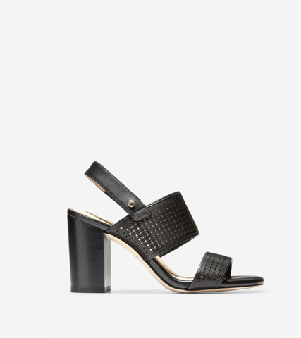 KIM CITY SANDAL 85MM - BLACK / 5.5