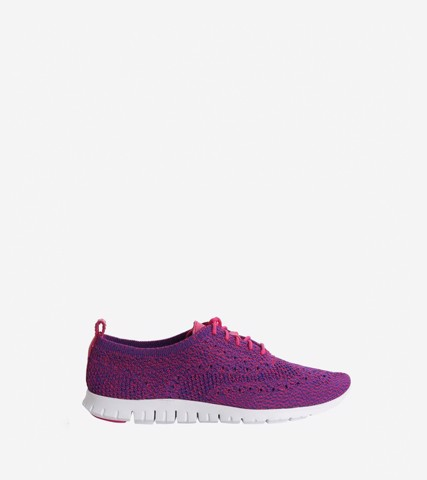 WOMEN ZEROGRAND STICHLITE™ICHLITE™ OXFORD - BLUE PINK / 5