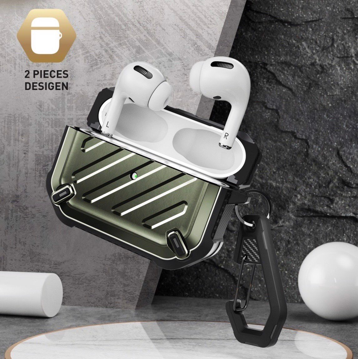 Ốp chống sốc Supcase cho tai nghe Airpods pro