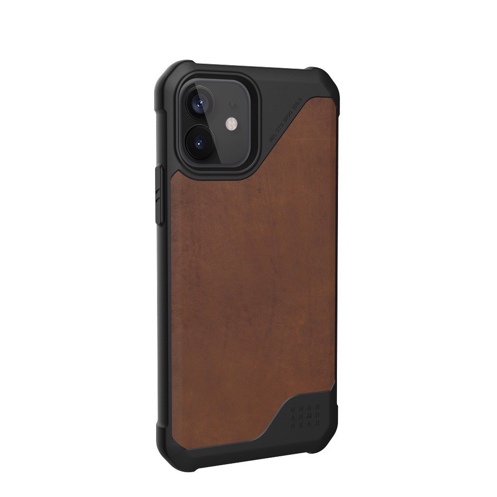 ỐP LƯNG UAG METROPOLIS LT CHO IPHONE 12 ( 6.1-INCH ) Leather Brown