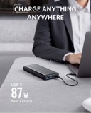 PIN DỰ PHÒNG ANKER POWERCORE III ELITE 25.600MAH POWER DELIVERY 87W - A1291