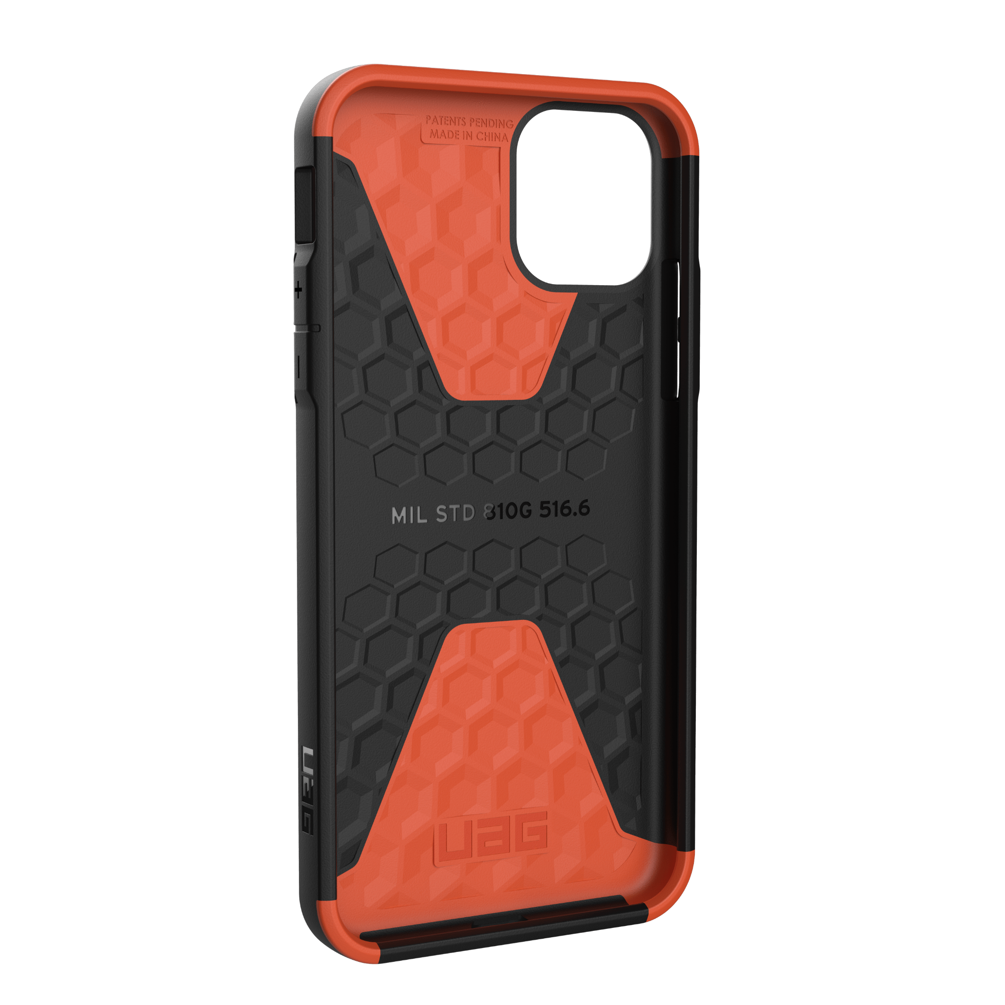 ỐP LƯNG UAG CIVILIAN CHO IPHONE 11 PRO MAX [6.5-INCH] - Slate