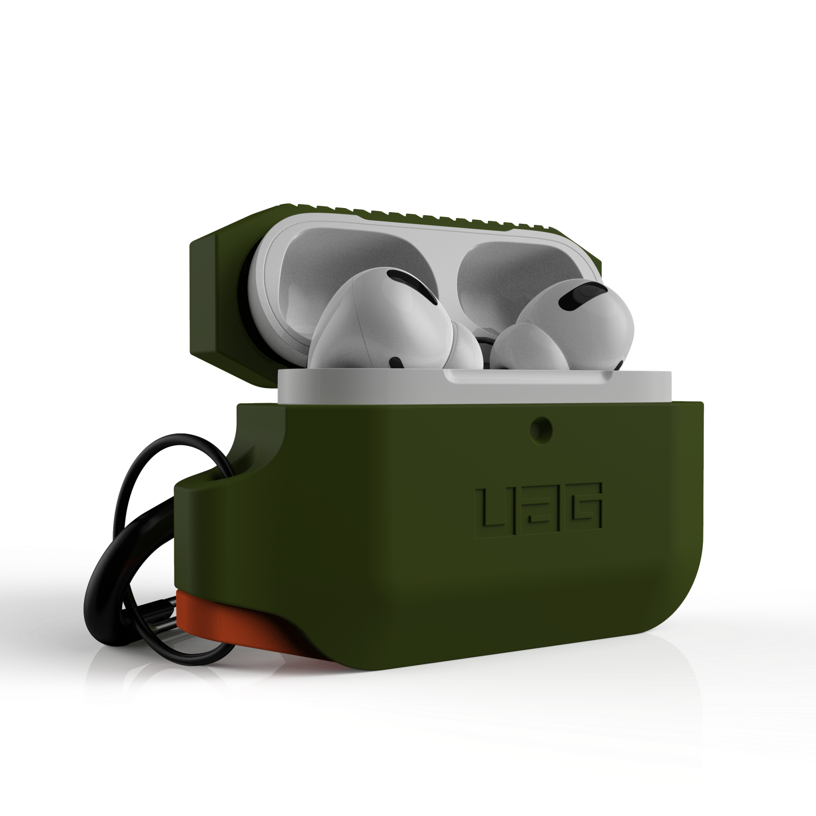 ỐP BẢO VỆ CHỐNG SỐC UAG SILICON CHO AIRPODS PRO - Olive
