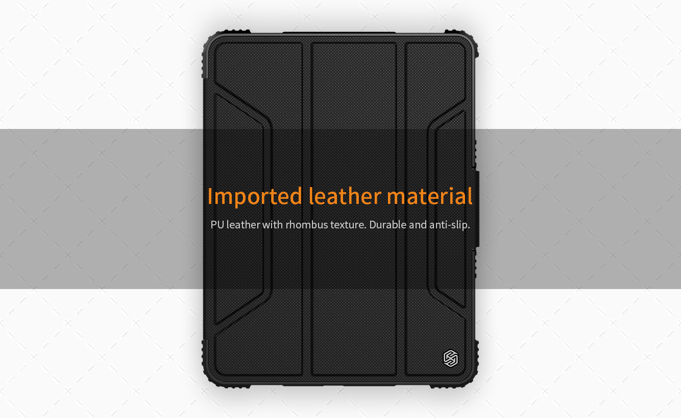 Bao Chống Sốc iPad Pro 11 (2018 ) Nillkin Bumper Leather Case
