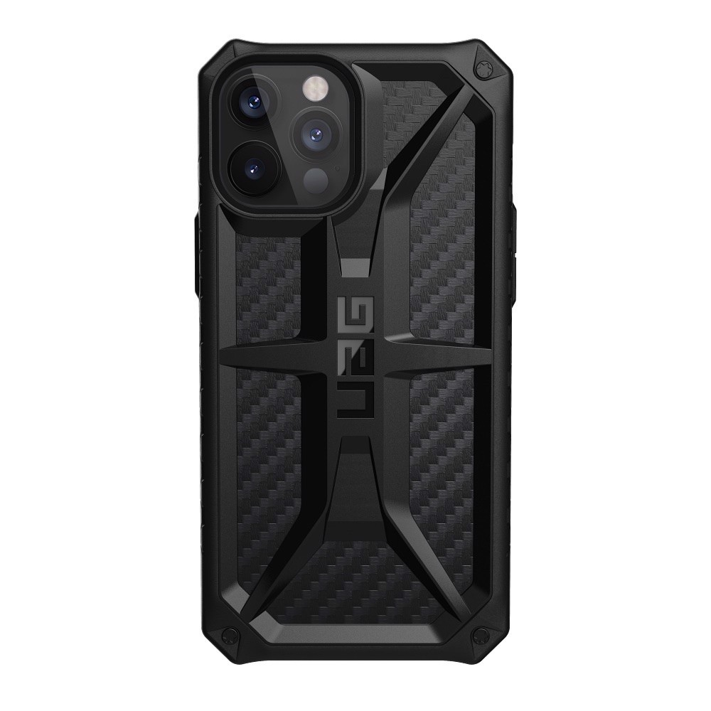 ỐP LƯNG UAG MONARCH CHO IPHONE 12 Pro Max [6.7-INCH] - Carbon Fiber