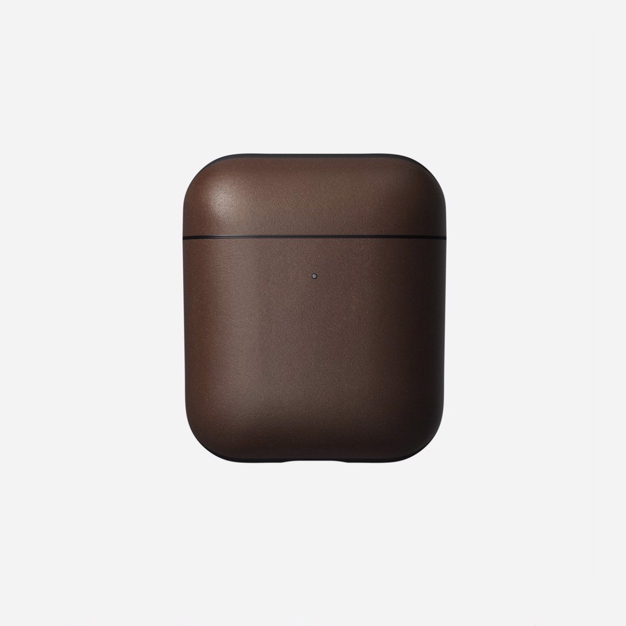 Ốp Da AirPods 1/2 NOMAD Rugged Leather Sang Trọng ( Da Thật 100% )