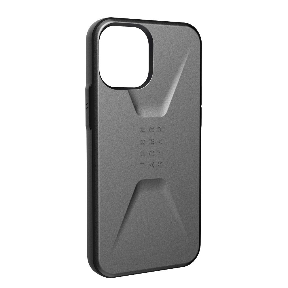 ỐP LƯNG UAG CIVILIAN CHO IPHONE 12 Pro Max [6.7-INCH] - Silver