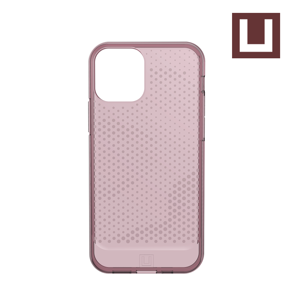 [U] ỐP LƯNG LUCENT CHO IPHONE 12 PRO ( 6.1-INCH ) - Dustry Rose