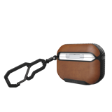 ỐP UAG METROPOLIS CHO AIRPODS PRO-Brown Leather
