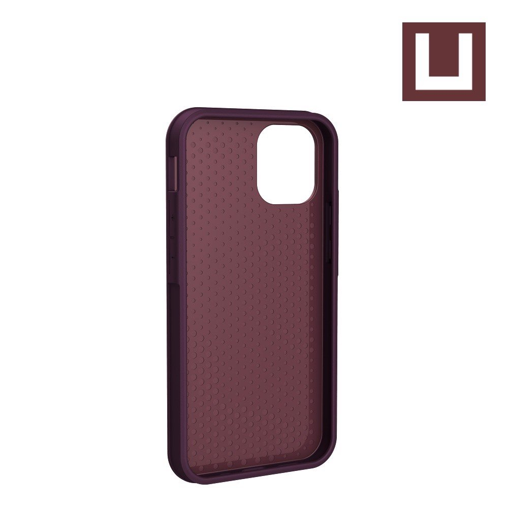 [U] ỐP LƯNG ANCHOR CHO IPHONE 12 MINI [5.4-INCH] - Aubergine