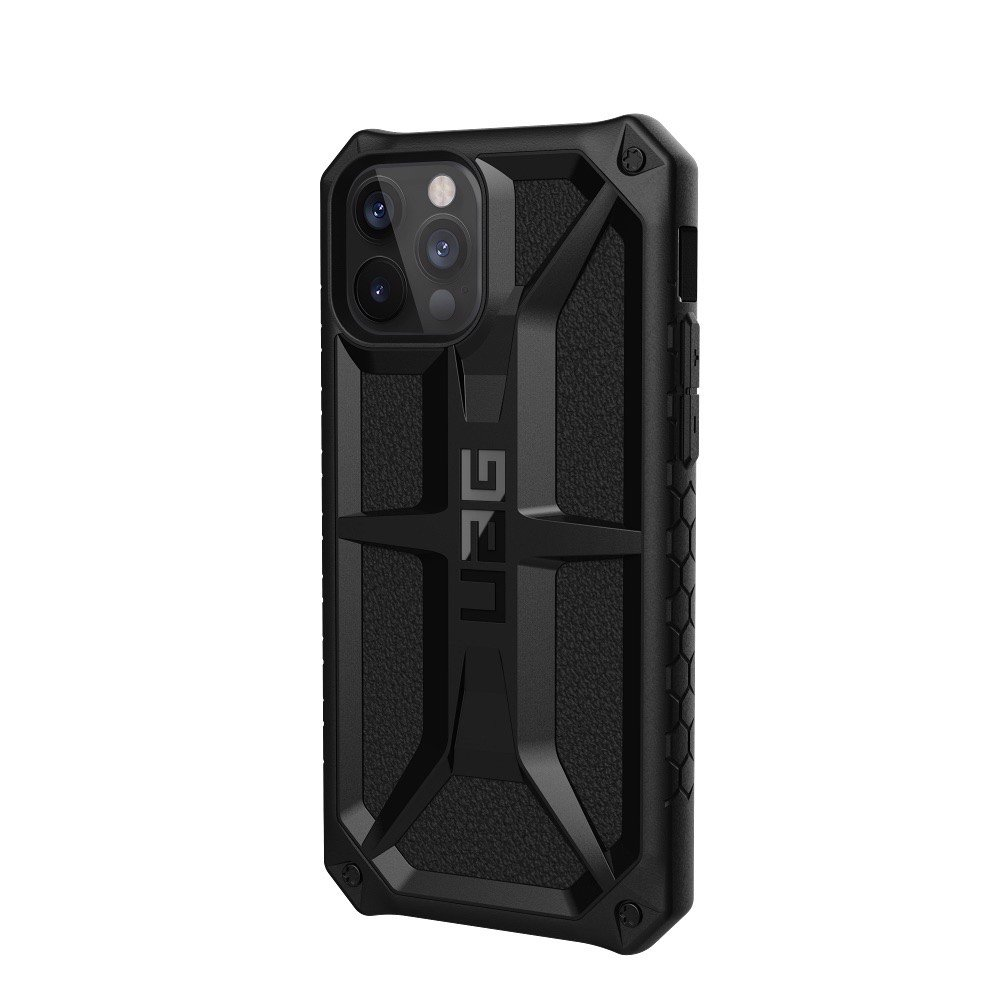 ỐP LƯNG UAG MONARCH CHO IPHONE 12 PRO ( 6.1-INCH ) Carbon Fiber