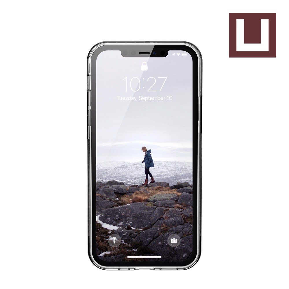 [U] ỐP LƯNG LUCENT CHO IPHONE 12 [6.1-INCH] - Ice