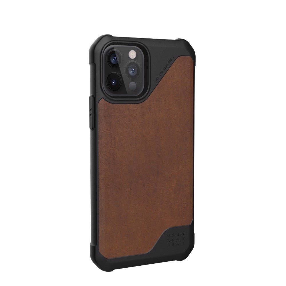ỐP LƯNG UAG METROPOLIS LT CHO IPHONE 12 PRO ( 6.1-INCH ) Leather Brown