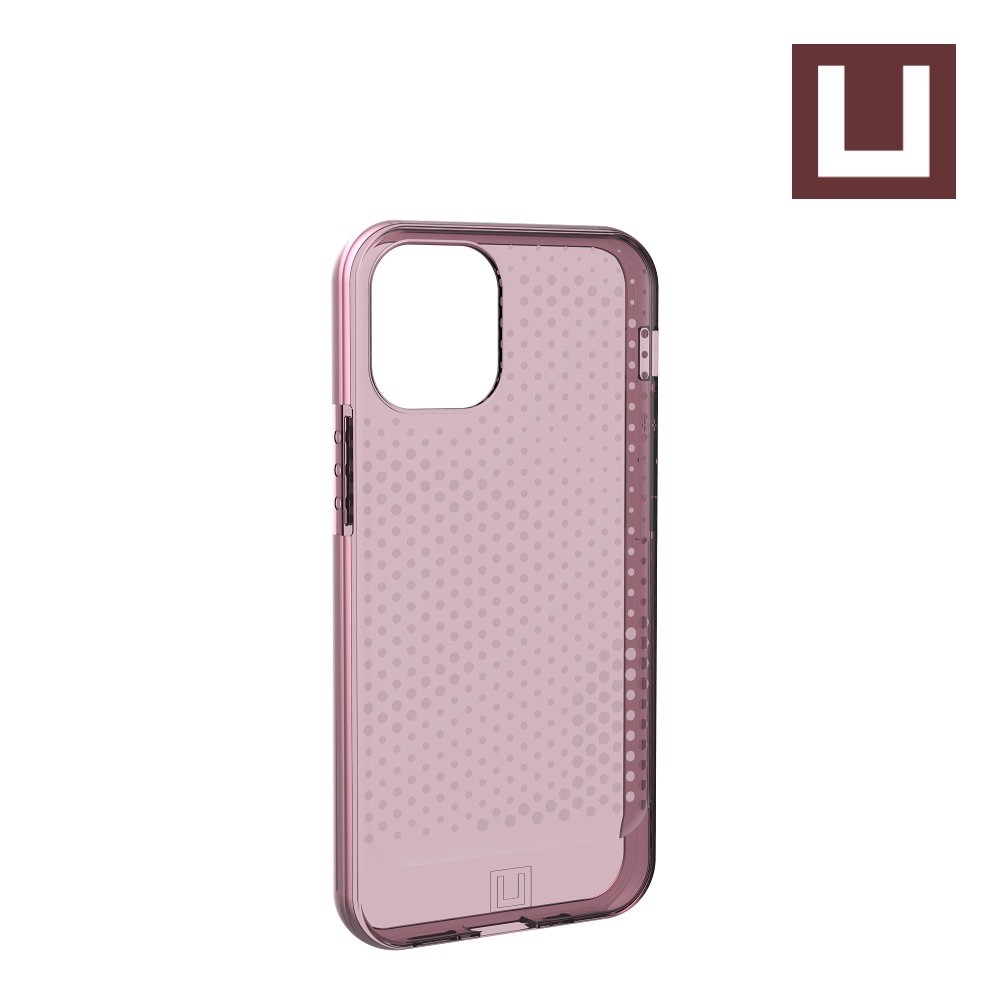 [U] ỐP LƯNG LUCENT CHO IPHONE 12 MINI [5.4-INCH] - Dustry Rose