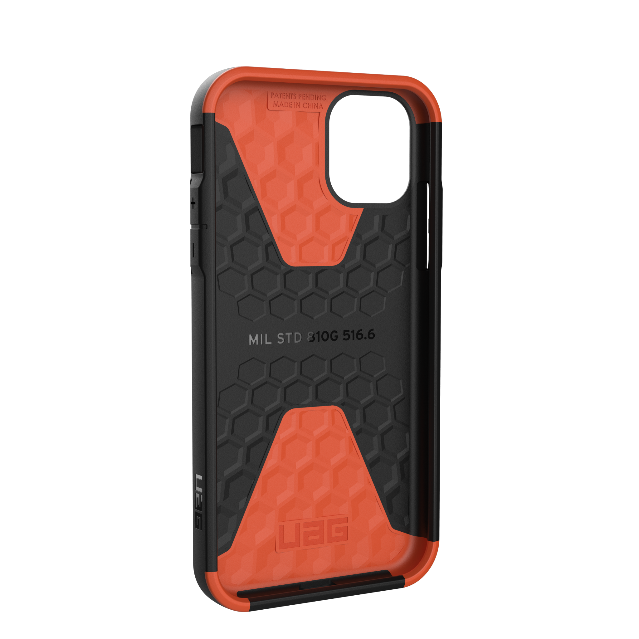 ỐP LƯNG UAG CIVILIAN CHO IPHONE 11 [6.1-INCH] - Black