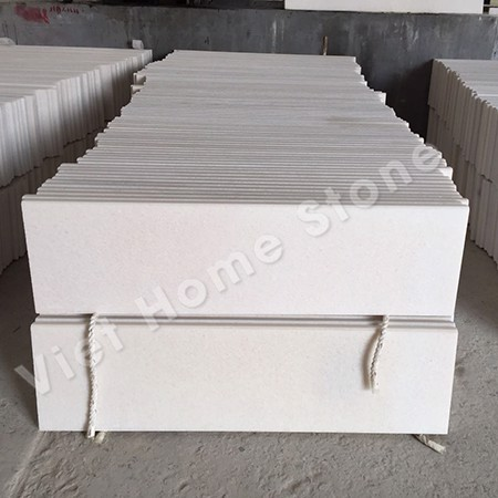 Pure white marble tiles 80x40