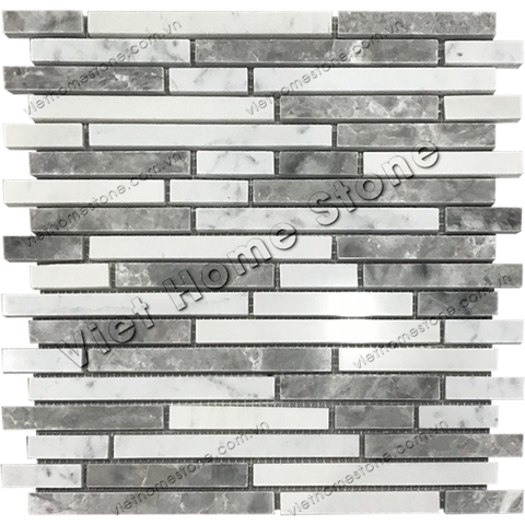 Interlocking Marble Mosaic