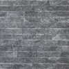 Crystal Black Ledger Marble Wall Panel