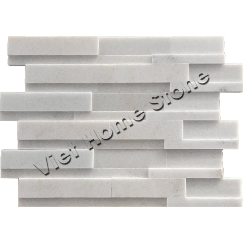 Crystal White 3D Wall Panel
