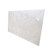 Milky white marble tiles slab
