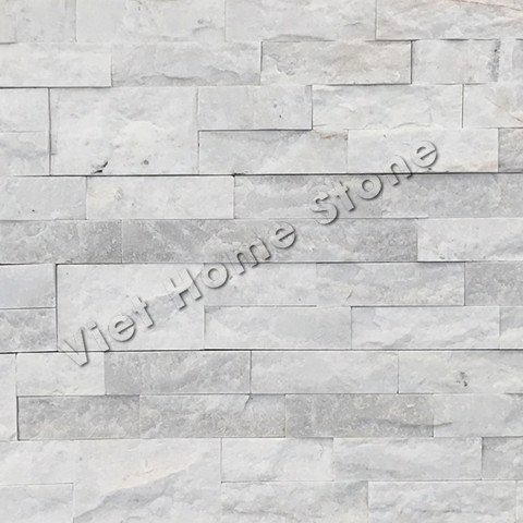 Milky White Mix Chip Big Marble Wall Panel