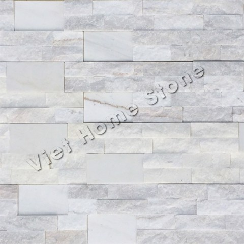 Milky White Marble Wall Panel