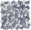 Mixed Colors Random Broken Marble Mosaic